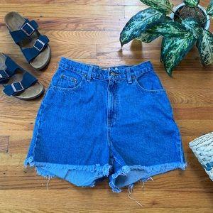 {Vintage} Denim Mom Shorts